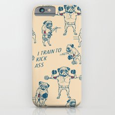 Pug Workout iPhone 6 Slim Case