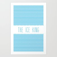 The Ice King Pattern...m… Art Print