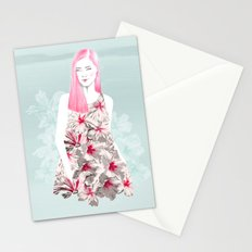 rose of sharon Stationery Cards