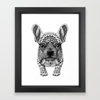 Frenchie Framed Art Print