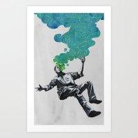 Madness Art Print