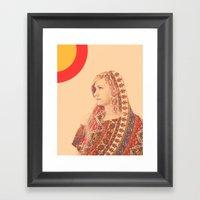 Tapestry (Double Exposur… Framed Art Print