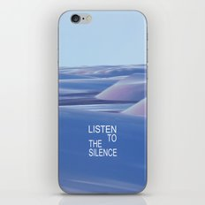 Listen to the Silent #3 iPhone & iPod Skin