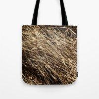 Dry Grass Rhythms Tote Bag