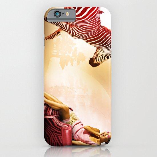 Red Zebra iPhone & iPod Case
