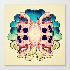 The Human Virus Canvas Print