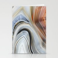 Marble Lined Stationery Cards