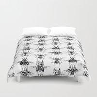 Scarabs Duvet Cover