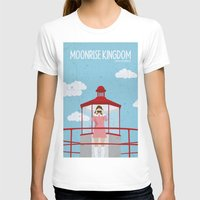Moonrise Kingdom-2 Womens Fitted Tee White SMALL
