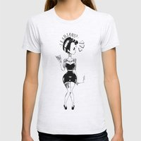 Sexual Curiosity Womens Fitted Tee Ash Grey SMALL