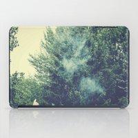 through smoke iPad Case
