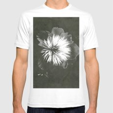 peony SMALL White Mens Fitted Tee