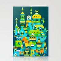Structura 7 Stationery Cards
