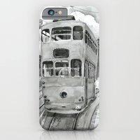 iPhone & iPod Case featuring { 未來惑星 } Tramcar by Olives Lo