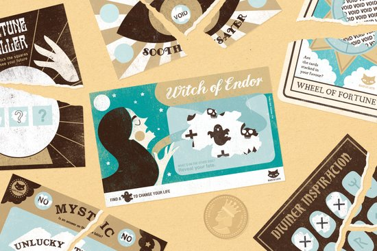 The Witch of Endor (by Zara Picken) Art Print