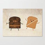 Canvas Print featuring Slice! by Teo Zirinis