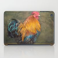 Little red Rooster iPad Case