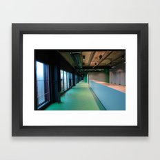2007 - Human Built Emptiness Framed Art Print
