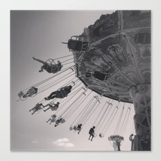 Sideshow Alley Canvas Print