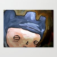 you look so innocent Canvas Print