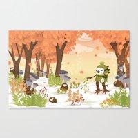 Cloudseeders Autumn Harv… Canvas Print