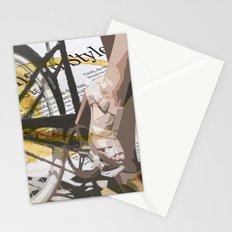 Bike Urban Chic Stationery Cards