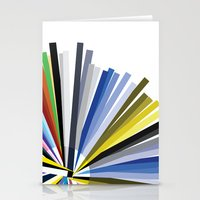 Colours Stationery Cards