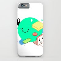 iPhone & iPod Case featuring Tasty Visuals - Sandwich Time (No Grid) by Neal Coghlan // Studio Aszyk