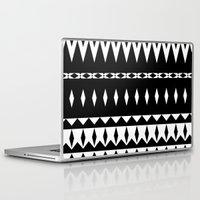 aztec Laptop & iPad Skins featuring Aztec by Ornaart