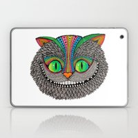 Alice´s cheshire cat by Luna Portnoi Laptop & iPad Skin