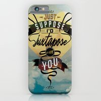 iPhone & iPod Case featuring Juxtapozed with you by Michael Tesch