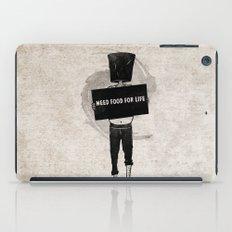 Need Food For Life iPad Case
