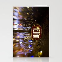 Metro Love Stationery Cards