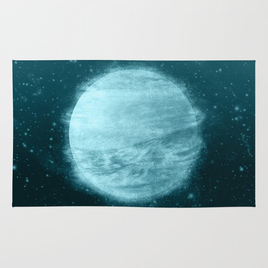 Ice Planet Area & Throw Rug