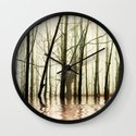 GHOST TREES Wall Clock