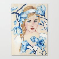 Porcelain Doll Canvas Print