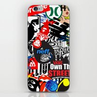 Decals iPhone & iPod Skin