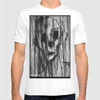 Ghost In the Rain Mens Fitted Tee White SMALL