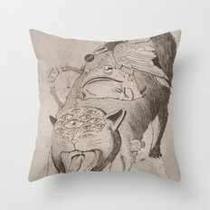 Bad Omens Throw Pillow