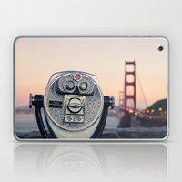 Golden Gate Sunset Laptop & iPad Skin