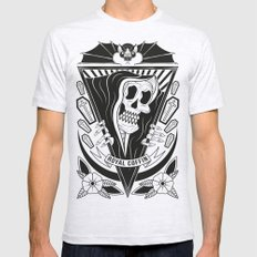 Sneakin' Death  Mens Fitted Tee Ash Grey SMALL