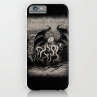 The Rise Of Great Cthulh… iPhone 6 Slim Case