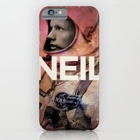 iPhone & iPod Case featuring Neil. by David