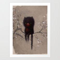 Bellamy and the Birds Art Print