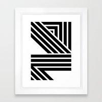 Starlines 02. Framed Art Print