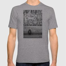 street musician Mens Fitted Tee Athletic Grey SMALL