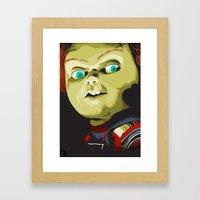 Wanna play?! Framed Art Print