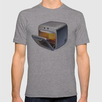 Oven Mens Fitted Tee Athletic Grey SMALL