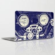I Love My Bike Laptop & iPad Skin