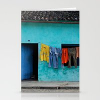 Out to dry in rural Bahia Stationery Cards